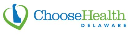 Official logo for Choose Health Delaware, compare insurance rates on their website