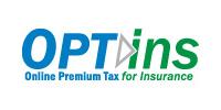 Official logo for the OPTins program